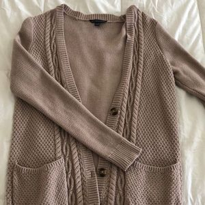 Long knitted cardigan from American Eagle